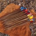 Стрела для лука бамбуковая