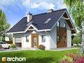 Проект малого дома (до 150 m2) Дом в бруснике 2