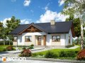 Проект малого дома (до 150 m2) Дом в лещиновнике