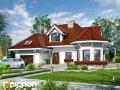Проект малого дома (до 150 m2) Дом под юккой 3