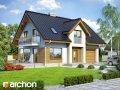 Проект дома со входом с юга Дом в бархатцах 2 (Н)