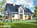 Проект дома оригинальный Дом в рододендронах 6 (A)