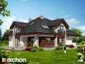 Проект дома оригинальный Дом в хебе 2