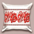 Дизайнерская декоративная подушка Украиночка, арт. 1Pd-143-50х50_g