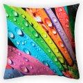 Дизайнерская декоративная подушка Утренняя радуга, арт. 2Pd-18-50х50_g