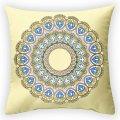 Дизайнерская декоративная подушка Солнечный круг, арт. 2Pd-62-50х50_g