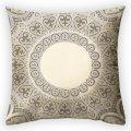 Дизайнерская декоративная подушка Песочный образ, арт. 2Pd-63-50х50_g