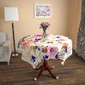 Дизайнерская скатерть из габардина Алекса, арт. 1Sk-49-100x100_g