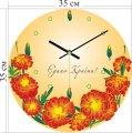 Стильные акриловые настенные часы 35x35 см, арт. 3A-1-35x35_H
