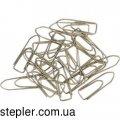 Скрепки 28 мм, пятиугольные, никелированные, 100 шт, ВМ.5510,  Buromax