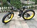 Электровелосипед Hummer Electrobike Foldable Чёрно-жёлтый