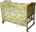 Спальный комплект для детской кроватки Руно 977У Сладкий сон салатовый, код: 27806