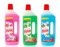 Антибактеріальні миючі засоби Floor