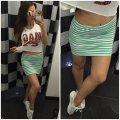 "La falda de estilo de jóvenes ""la Raya"" Yulia"