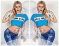 """Стильный молодежный топ """" Bad Girl """" Dress Code"""