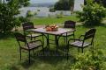 Комплект мебели Премиум KIT-Premium-BD черный металл, темное дерево