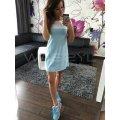 Платье туника Лето разные цвета
