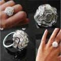 Женское кольцо Роза