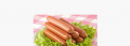 Self-adhesive label on sausages