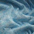 Ткань Трикотаж вязаный (голубой) 5238