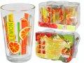 Набор стаканов 0,24 л 6шт. (1) Апельсин, код 945