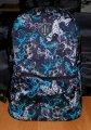 Рюкзак детский, городской объем 15 литров голубые бабочки