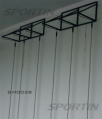 The bracket (console) ropes and poles for climbing