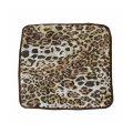 Подушка на табурет 35х35см  Леопард