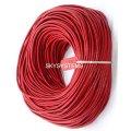3,0 мм Кожаный шнурок | Цвет: Красный