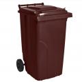 Бак мусорный 120 л.