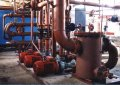Equipment for a complete set of 'turnkey' boiler rooms.