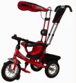 Велосипед 3-х колесный Mini Trike надувные (красный)
