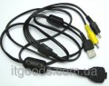Кабель AV + USB VMC-MD1 аналог для Sony DSC-N1, P150, T100, W130, W170 1271