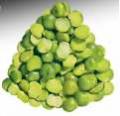 Горох зеленый колотый шлифованный