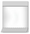 Пакет полипропиленовый с донной складкой и липким клапаном