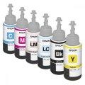 Оригинальные чернила для Epson L800 (70 мл, 6 цветов)
