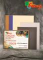 Холст грунтованный ручной работы на картоне с цветным грунтом от ТМ «Этюд»