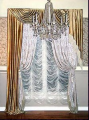 Французские шторы с элегантными складками