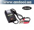 Тестер аккумуляторных батарей и системы зарядки с термопринтером V3748 Vigor