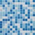 Мозаика Vivacer Glmix 100 327x327 мм голубая