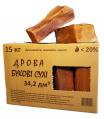 Firewood in cardbord