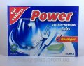 Power Geschirr-Reiniger-Tabs, Таблетки для посудомоечных машин, 60 шт