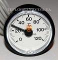 Термометр круглый 37 мм с выносным датчиком 1м, Термометры, термоманометры