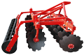 Harrow disk hinged BN-2,4 with an adjustable angle of attack. Plant - producer.