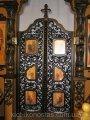 Царские врата  резные из дерева Липа