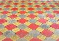 Тротуарная плитка «Гжель» цвет серый
