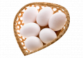 Chicken Eggs (White & Brown)