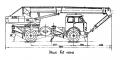 Краны на автомобильном шасси КС-3571