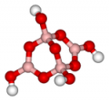 Sodium tetraborate (sodium tetraborate), borax