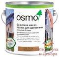 Защитное масло-лазурь для древесины Osmo Holzschutz Ol-Lasur 2,5 л